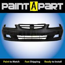 2001 honda accord fog lights 2001 2002 honda accord coupe front bumper painted paint a part