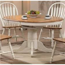 Kitchen Tables Delaware Maryland Virginia Delmarva Kitchen - Antique white pedestal dining table