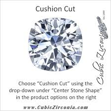 cubic zirconia cz cz ring the latasha customizable center