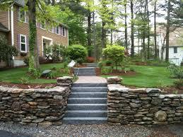 Garden Stone Ideas by Home Landscape Blocks Garden Pebbles White Landscaping Rock