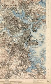 T Map Boston Ma by Boston Ma Quadrangle