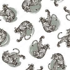 japanese tiger pattern u2014 stock vector daicokuebisu 87456448