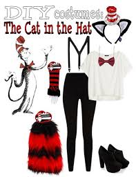 Cat In The Hat Costume Diy Costumes The Cat In The Hat