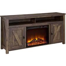 farmington electric fireplace tv console for tvs multiple colors