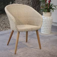 Dining Tub Chairs All Weather Wicker Sanya Tub Dining Chairs Set Of 2 World Market