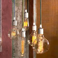 Roost Home Decor Roost Cloth Cord For Filament Bulbs Lighting U0026 Candles House