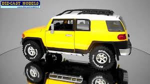 fj cruiser car toyota fj cruiser jada toys 1 24 youtube