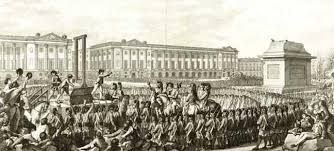 Essay    French Revolution and It     s Effect on French Art   Art And     image louisxvi execution for term side of card