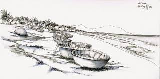 vietnam street scenes and landscapes urban sketchers