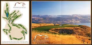 Chelan Washington Map by Bear Mountain Golf Resort Chelan Wa Bear Mountain Golf U0026 Resort