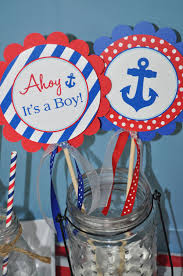 Nautical Baby Shower Centerpieces by Nautical Baby Shower Centerpiece Sticks Boys Baby Shower