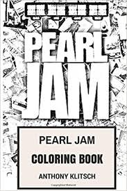 amazon com pearl jam coloring book american rock and roll and