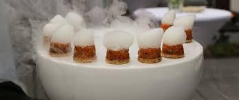 cuisine azote liquide traiteur ève luxe haute gastronomie et cuisine moléculaire