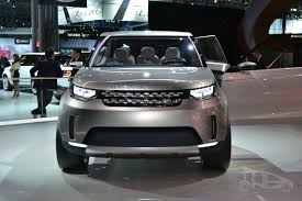 new land rover discovery interior land rover discovery vision concept at 2014 ny auto show front