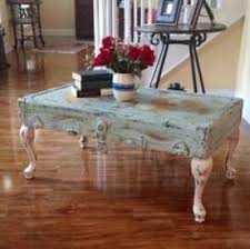 vintage trunk coffee table coffee table from old trunk lid painted in a shabby chic teal and