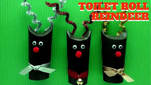 christmas craft toilet paper roll reindeer toilet paper roll