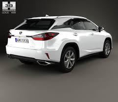 lexus rx 350 in black lexus rx 350 2016 3d model hum3d