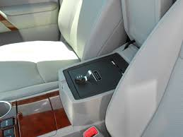 2013 toyota highlander limited accessories toyota highlander console vault