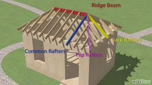 How To Frame A Hip Roof Addition How To Build A Hip Roof 15 Steps With Pictures Wikihow