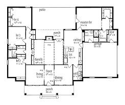 open floor plan colonial 28 images plan 44045td center