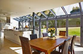 extensions kitchen ideas dining room kitchen extensions ideal home regarding measurements