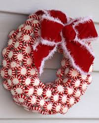 candy wreath mini peppermint candy wreath a spotted pony