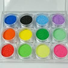 set of 12 jars color sand lowest price ever 12