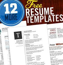 Create Free Resume Templates Free Resume Templates Word Resume Formats Word 30 Free Beautiful