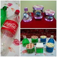recycled christmas decorations using bottles ne wall