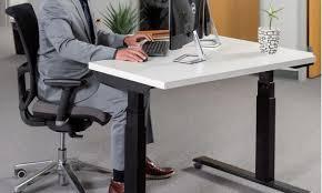 motorized sit stand desk elegant corner standing desk at china loctek et201dl linear actuator