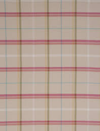 Pink Tartan Curtains Curtain Jacquard Check Pink Next Made To Measure