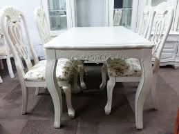 white table ordinary spray green paint white wood dining table