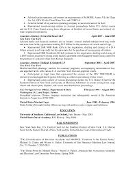 Attorney Resume Bar Admission In House Counsel Corporate Resume 03 25 2015
