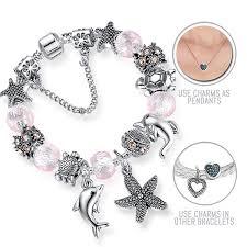 pandora bracelet styles images Aloha hawaii silver pandora style bracelet combo set with 17 jpg