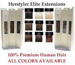 elite extensions herstyler elite extensions nib authentic 18 premium human