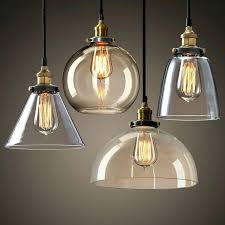 Industrial Dome Pendant Light Dome Pendant Ceiling Light Clear Glass Dome Pendant Light New