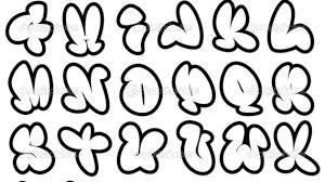 graffiti alphabet fonts graffiti alphabet urban font royalty free