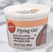 edible gel cake decorating edible piping gel 283g 10oz co uk grocery