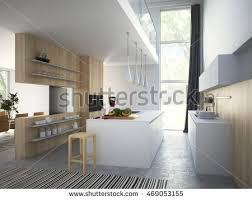Kitchen And Living Room Design Loft Apartment Stock Images Royalty Free Images U0026 Vectors