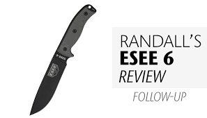 rowen esee 6 knife review formerly rat cutlery follow up