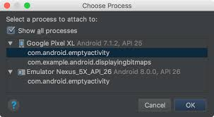 android snapshot debug your layout with layout inspector android studio