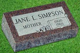 Flat Grave Markers With Vase How To Buy A Bevel Grave Marker To Memorialize Your Mother