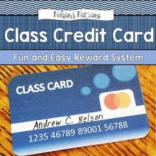debit cards for kids class credit cards easy to use reward system classroom money
