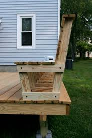 Diy Bench Seat Best 25 Deck Bench Seating Ideas On Pinterest Deck Benches