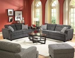living room awesome houndstooth ottoman white rug gray sofa