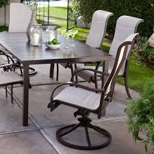 Sling Patio Dining Set - coral coast del rey deluxe padded sling aluminum table dining set