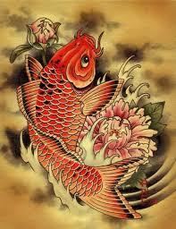 best ever black koi fish tattoo design fabulous tattooshunter com