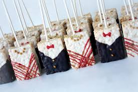 Wedding Favors For Bridal by Edible Wedding Favors Groom Rice Krispie Treats 12
