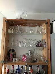 Ikea Cabinet Glass Doors Ikea Ivar Cabinet W Glass Doors And Shelving Glass Doors Doors