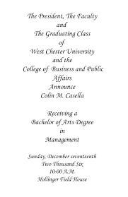 formal college graduation announcements personalized graduation announcements formal college graduation